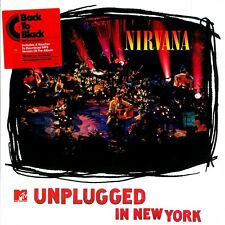 NIRVANA 'MTV UNPLUGGED IN NEW YORK' BRAND NEW SEALED RE-ISSUE LP ON 180 GRAM