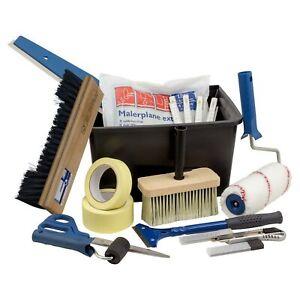Profi Tapeten Werkzeug-Set 15-teilig Tapezierzubehör Renovieren Tapezieren