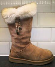 Rare UGG Plumdale Charm Boots UK 6.5 Gorgeous Sheepskin xx