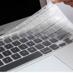 Clear Soft Silicone KeyBoard Cover for Apple Macbook Air Pro Skin Protector