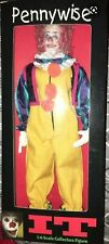 """Distinctive Dummies """"IT"""" PENNYWISE first 12""""  Action Figure ORIGINAL BOX SEALED"""