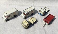 Kleine Sammlung von alten, aber lädierten EFSI-Spielzeugautos