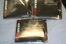 Gearbox Multi Premium String 17 gauge Black Color 45' package string / 3 packs