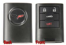 C6 Corvette 2008-2013 Keyless Entry Remote Key Fobs #1