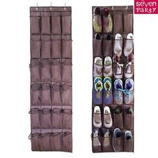 24 Poche Organisateur de chaussures suspendu Rangement mural Range-chaussures