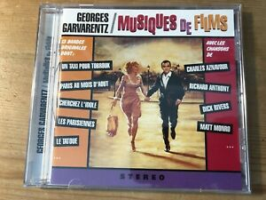 GEORGES GARVARENTZ: MUSIQUES DE FILMS (1997) OOP Ltd Score Soundtrack CD NM