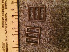 2 x 6016 bar marrone LEGO Finestra Grill parti pezzi * Più Economici Su eBay * Gratis