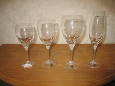 BOUSSU *NEW* TULIPE TAILLE Set 4 Verres Glasses