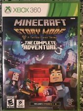 Minecraft: Story Mode - The Complete Adventure - Xbox 360 Adult Owned Mint
