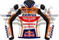 ALEX MARQUEZ HONDA REPSOL 2020 MODEL MOTOGP MOTORBIKE RACING LEATHE JACKET