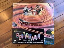 BEATLEMANIA The Movie Laserdisc USA LD Beatles