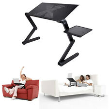 New Adjustable Folding Laptop Computer Notebook Table Stand Desk Bed Sofa Tray