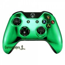 Custom Repair Top Cover Faceplate Shell for Microsoft Xbox One Controller Chrome