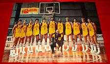 Poster Basket PALLACANESTRO GABETTI CANTU' 1977-78 - cm 60 x 42 (Cantù)