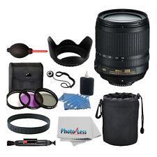 Nikon 18-105mm f/3.5-5.6G ED VR AF-S DX Nikkor Autofocus Lens + Top Value Bundle
