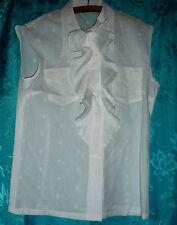 Ärmellose Damenblusen, - tops & -shirts aus Baumwollmischung für Business-Blusen