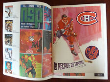 1969 Montreal Canadiens Sports Magazine, Program vs Chicago Black Hawks March 15