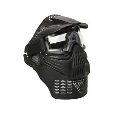 ALEKO Tactical Army Military Anti Fog Paintball Mask Black
