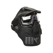 ALEKO Tactical Army Military Anti Fog Paintball Mask Black