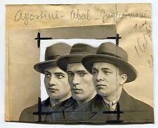 Photo Montage - Voleurs de Vitrines - Montage photo rehaussé 1925 -