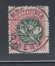 Liberia # 138 USED 1915-16 Surcharge SON 3 V 17 CP.21 Cancel Flora Pepper Plant