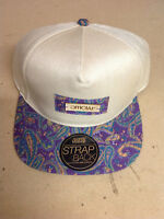 Stay Official - Grey Marl and Purple Bamboo Strapback