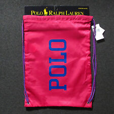 POLO RALPH LAUREN Cinch Sack **Brand New w/ Tag** Sackpack Gymsack Backpack Bag