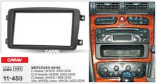 95411 2-DIN Radioblende für MERCEDES C-Klasse (W203) 2000-2004; CLK-Klasse (W209