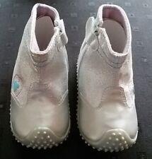 Playshoes Babyschuhe Babystiefeletten silberfarben rutschfeste Sohle Gr. 20
