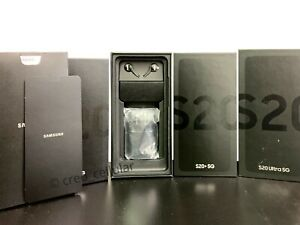 Samsung Galaxy S20 Ultra S20 Plus 5G Box with All OEM Accessories Fully Kitted