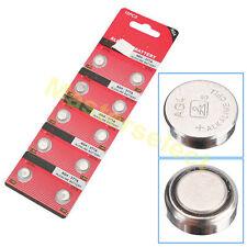 10 Batteria Batterie A Bottone AG 4 AG4,SR626,626,377 Per Orologio Calcolatrice