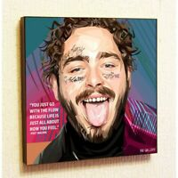 Post Malone Music Painting Decor Print Wall Pop Art Poster Canvas