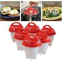 SigmaGo Egglettes Cooker Egglets Eggies Hardboiled System Cups(6 Pack)