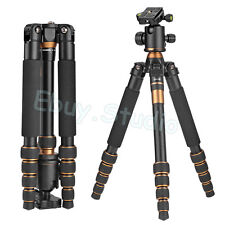 Portable Camera Tripod Monopod Ball Head Light-Weight For SLR Photo Travel Canon