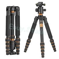 Brand Portable Camera Tripod Monopod Ball Head Light-Weight For SLR Photo Travel