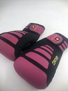Century Brave Womens Neoprene Bag Gloves Pink