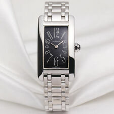 Cartier Tank Americaine 1713 18k White gold