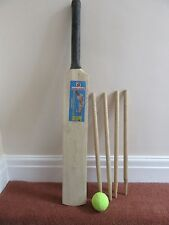 Ragazzi Ragazze Set Cricket giochi pipistrelli Palla Moncone Taglia 5 per bambini