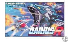 DARIUS R Gameboy Advance GBA Import Japan