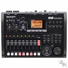 Zoom R8 Multi-Track SD Recorder USB Interface Controller Drumpad Sampler Cubase