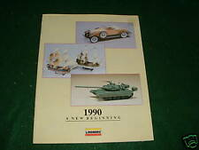 Lindberg Catalog - 1990 approx 28 pages