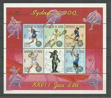 Olympia 2000-tenis/Guinea MiNr 2829/33 ** KB