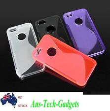 iphone 5 Purple Premium Jelly TPU Silicone Case Cover for iPhone 5 5G