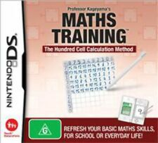 Maths Training DS Game USED