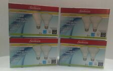 8 X Dimmable Sunbeam LED Flood Light Bulbs BR30 65W Replacement Indoor/Outdoor