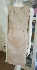 Contony dress.Sz8.Stretchy hi sheen fabric.Fully lined.As new condition