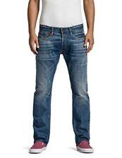 Ropa de hombre azul de 100% algodón, talla 38