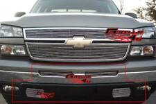 Fits 03-06 Chevy Silverado 1500/2500 Billet Grille Combo
