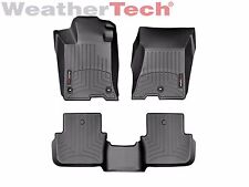 WeatherTech FloorLiner Masts for Acura TLX w/AWD - 2015-2018 - 1st/2nd Row-Black
