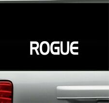 "Rogue Vinyl Decal Home Décor 6"" x 24"""